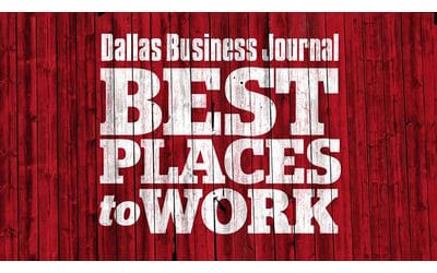 Saxony Partners Named 8th Best Place to Work in Dallas Business Journal