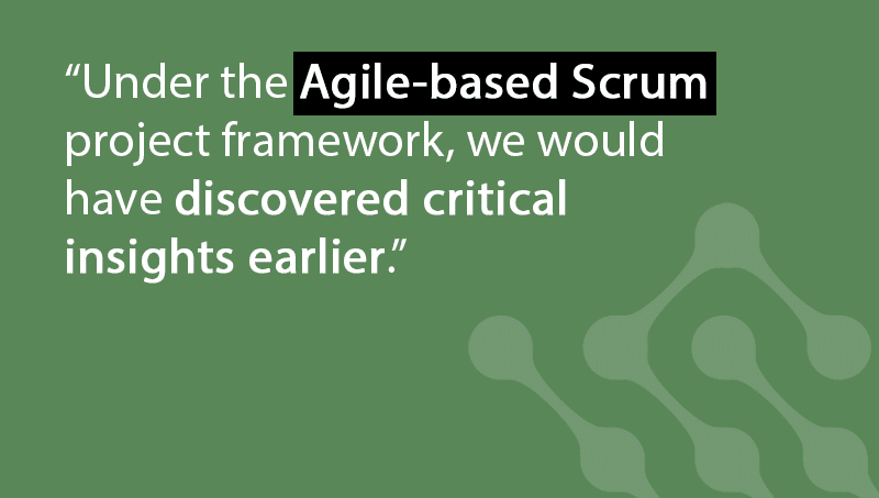 Agile/Scrum is the more effective way to manage BI projects
