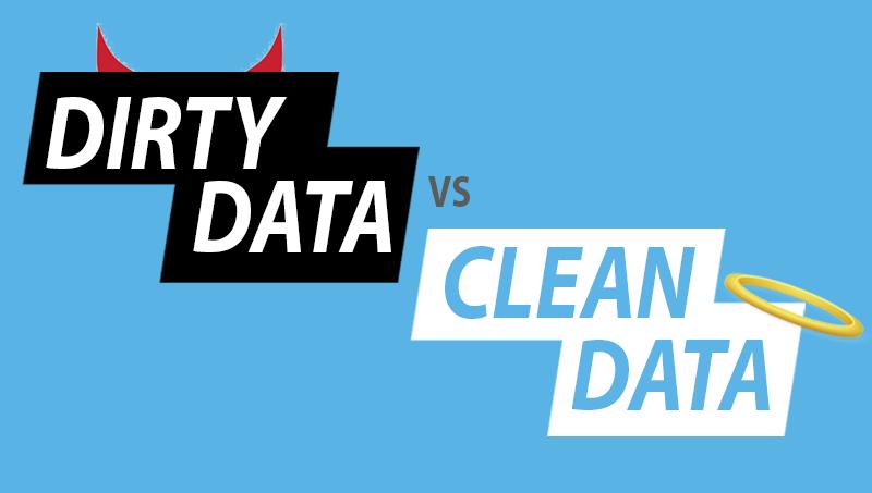 Dirty Data vs. Clean Data