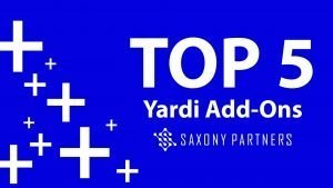 Saxony Partners Top 5 Yardi Add Ons
