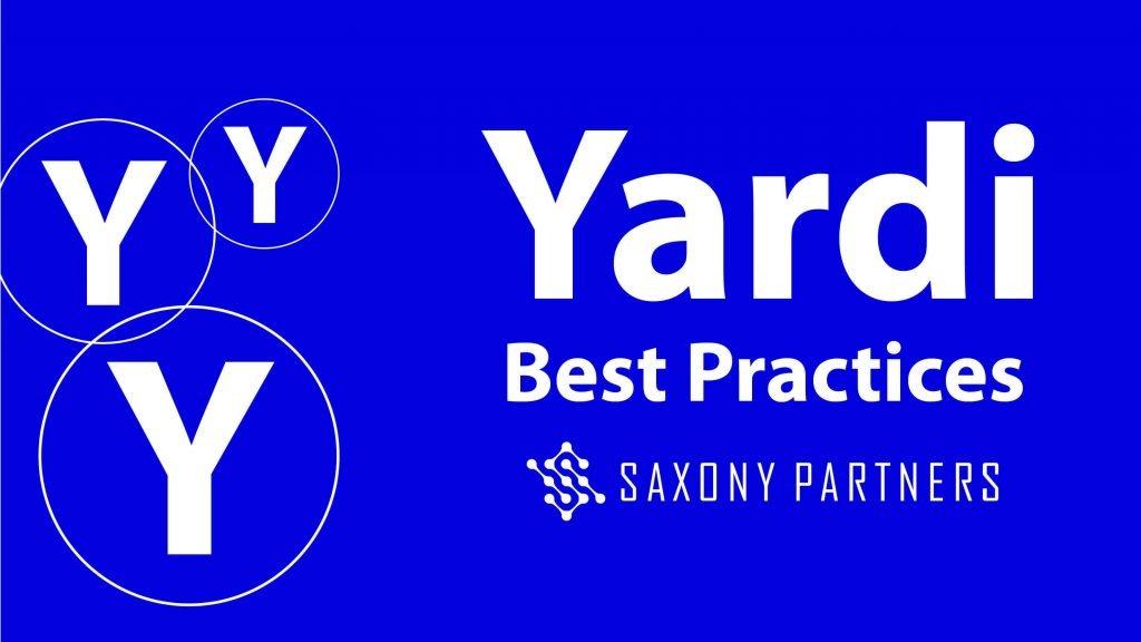 Underutilized Yardi Best Practices