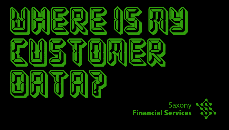 Where is customer data?