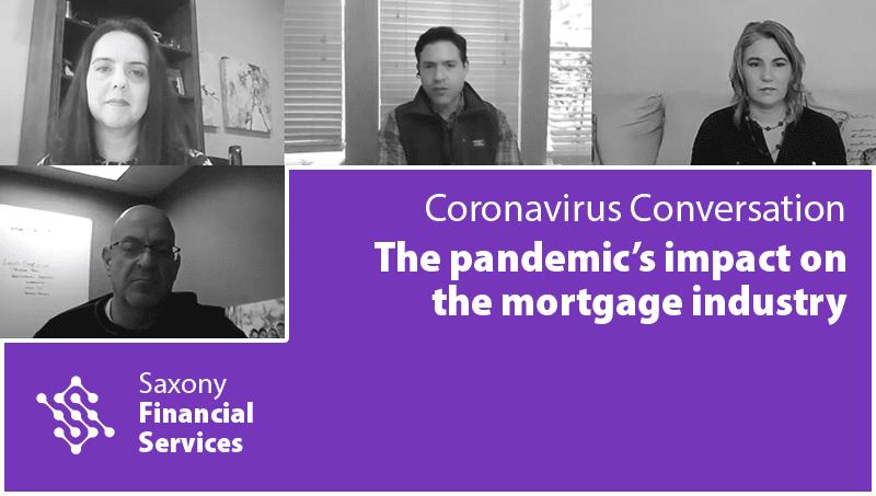 The impact of coronavirus on the mortgage industry